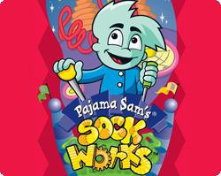 Pajama Sam's SockWorks Windows Front Cover