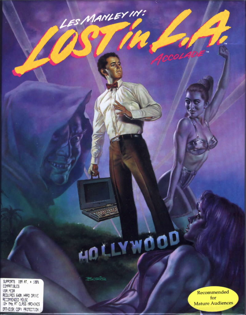 Les Manley in: Lost in L.A. sur PC 10783-les-manley-in-lost-in-l-a-dos-front-cover