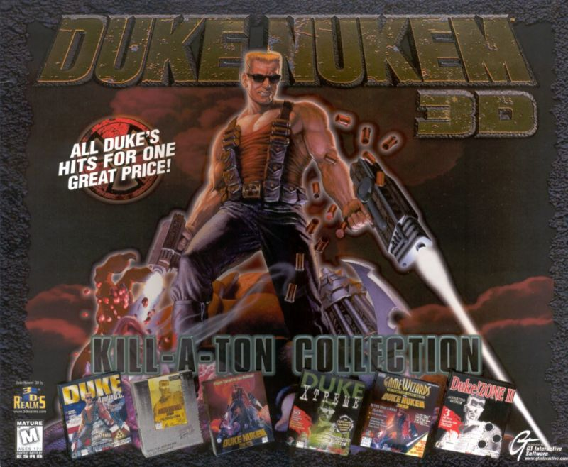 Duke Nukem 3D: Kill a Ton Collection DOS Front Cover