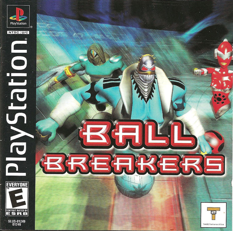 Ball Breakers PlayStation Front Cover