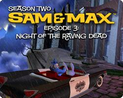 Sam & Max Episode 203: Night of the Raving Dead Windows Front Cover