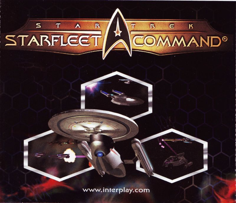 Star Trek: Starfleet Command Volume II - Empires at War Windows Other Jewel Case - Inside