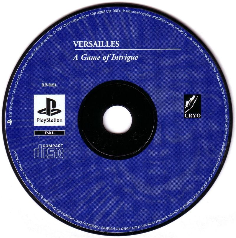 Versailles 1685 PlayStation Media