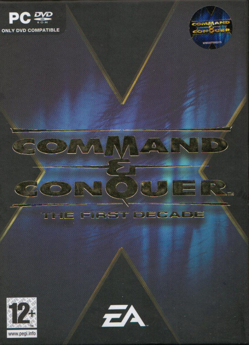 Command & Conquer: The First Decade (2006) Windows box cover