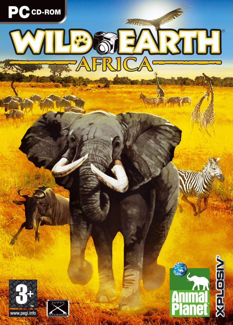 Safari Photo Africa: Wild Earth Windows Front Cover