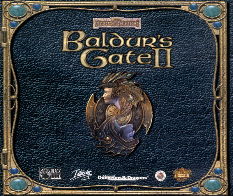 Baldur's Gate II: Shadows of Amn Windows Other Jewel Case Game - Front