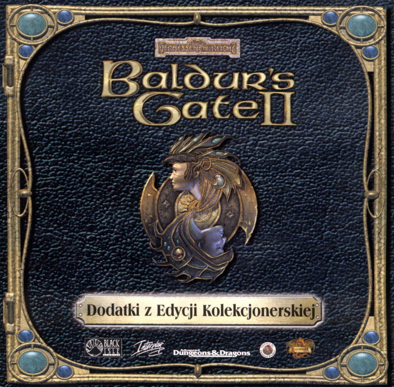 Baldur's Gate II: Shadows of Amn Windows Other Jewel Case Bonus Disc - Front