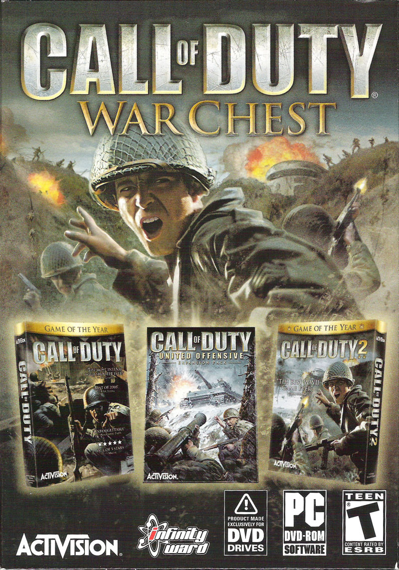 Call of Duty: War Chest Windows Front Cover