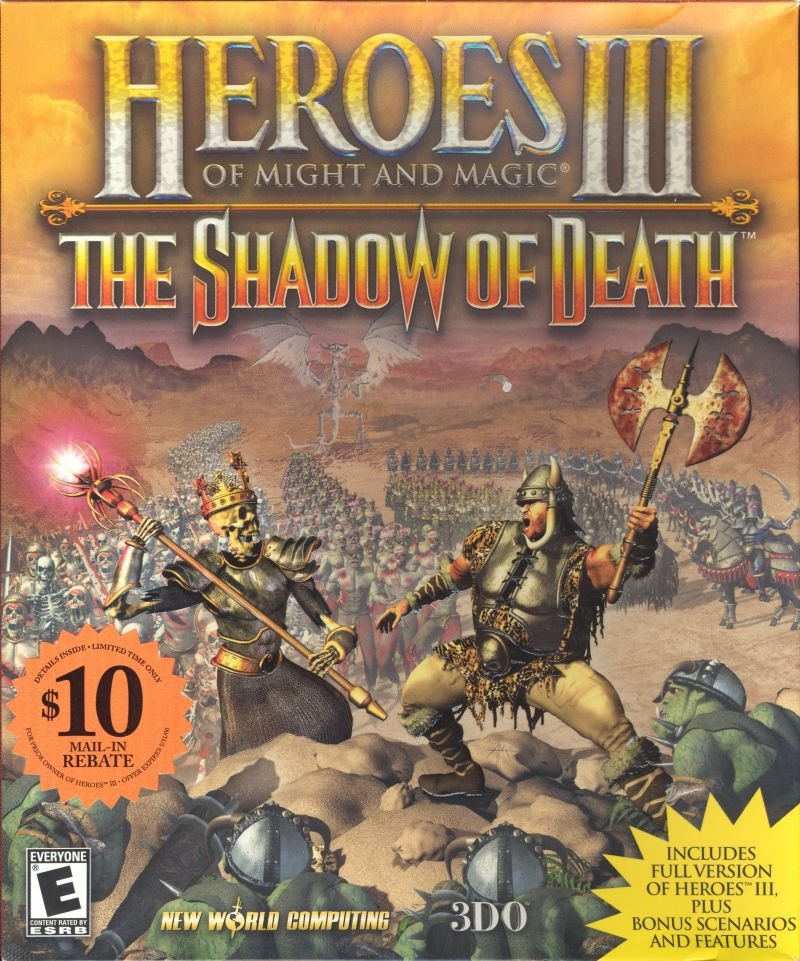 обложка 90x90 Heroes of Might and Magic III: The Shadow of Death