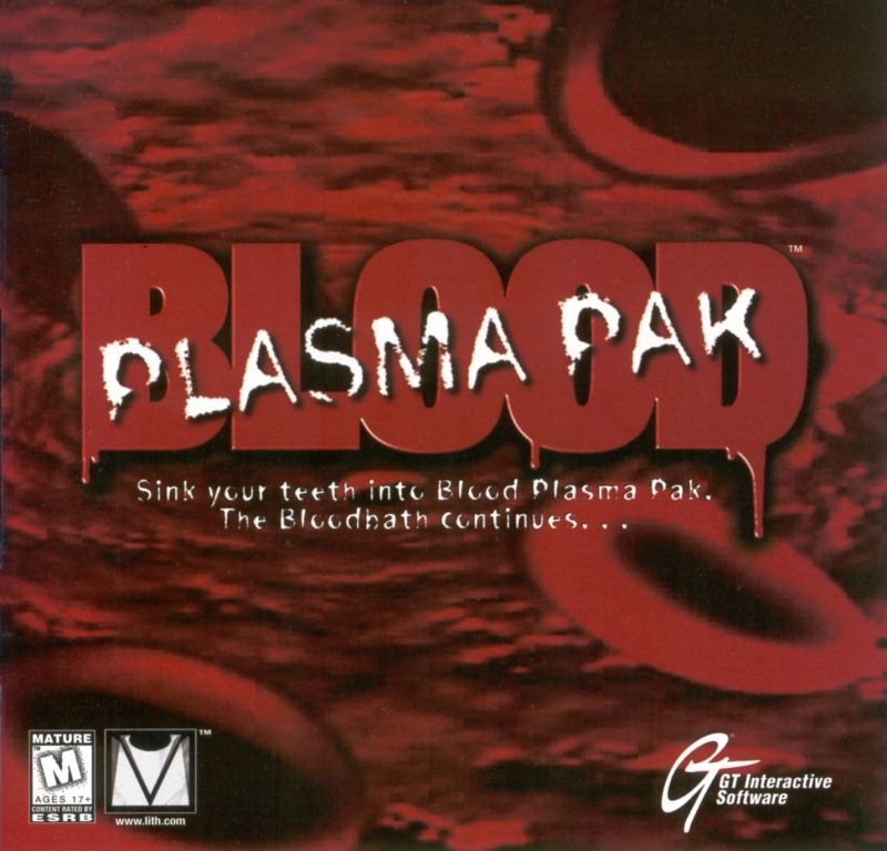 Blood: Plasma Pak DOS Other Jewel Case - Front