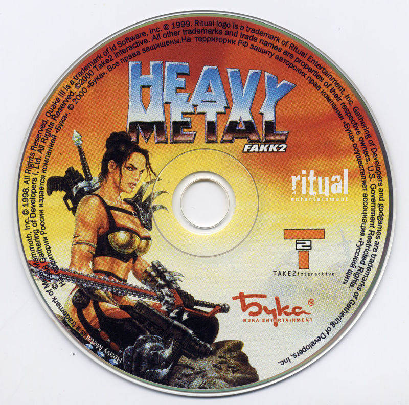 Heavy Metal: F.A.K.K. 2 Windows Media