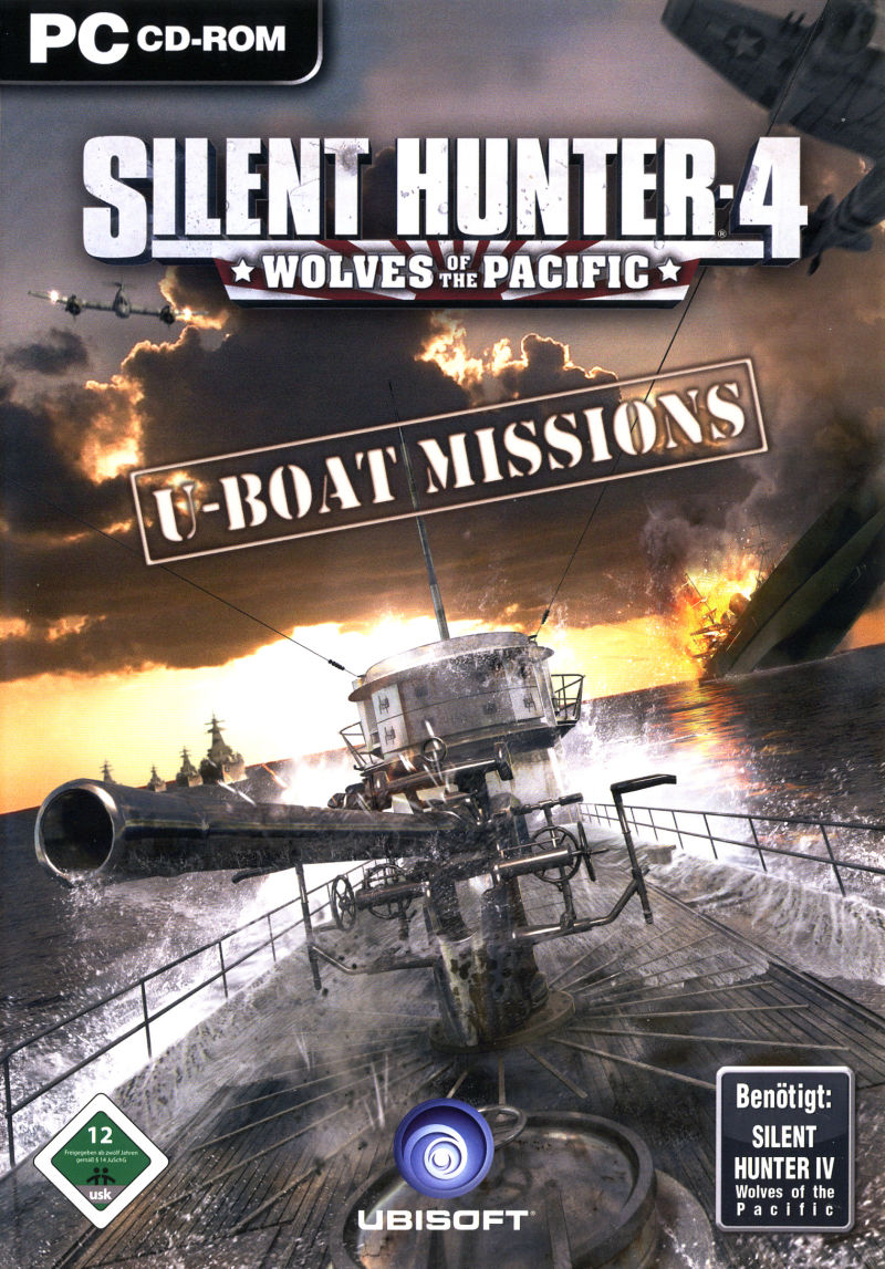 Silent Hunter 4: Wolves of the Pacific - U-Boat Missions Windows Front Cover