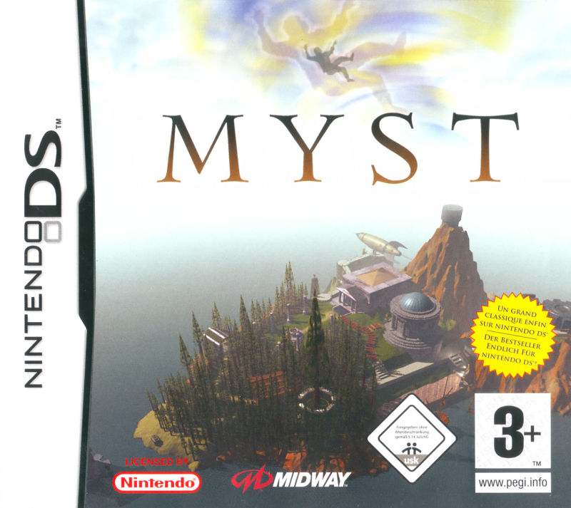 Myst Nintendo DS Front Cover