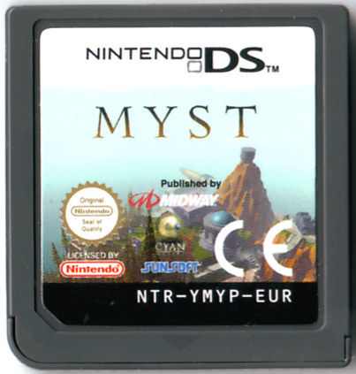 Myst Nintendo DS Media