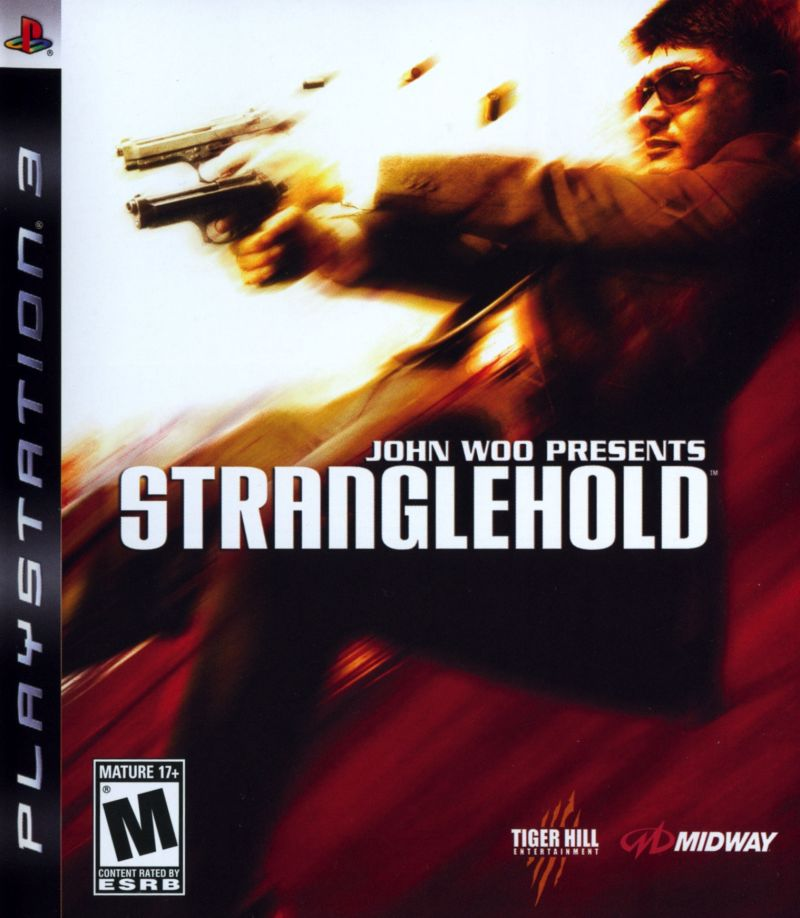 John Woo presents Stranglehold PlayStation 3 Front Cover