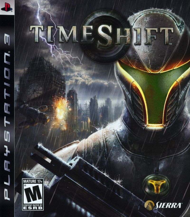 TimeShift PlayStation 3 Front Cover