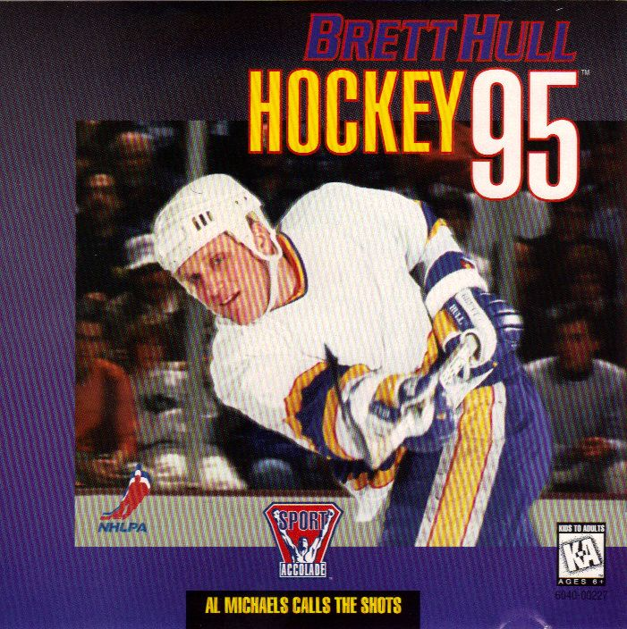 Brett Hull Hockey 95 DOS Front Cover