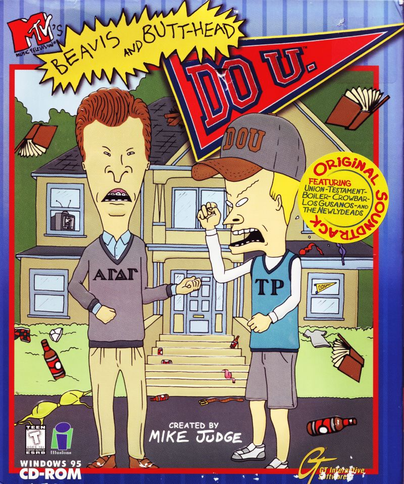 Beavis And Butthead Games
