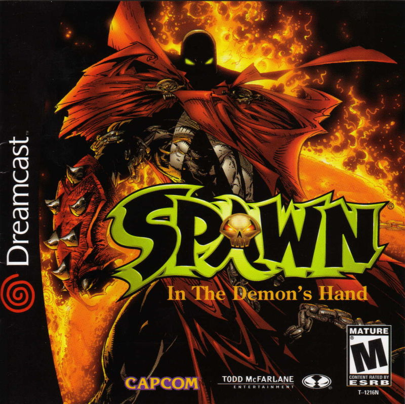 Spawn: In the Demon's Hand Dreamcast Front Cover