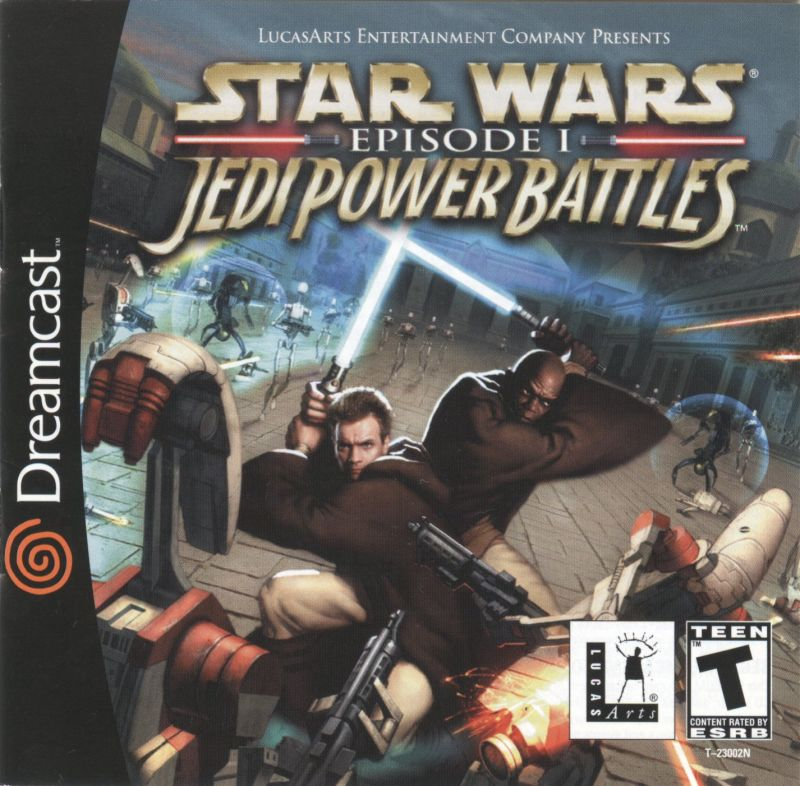 Star Wars: Episode I - Jedi Power Battles Dreamcast Front Cover