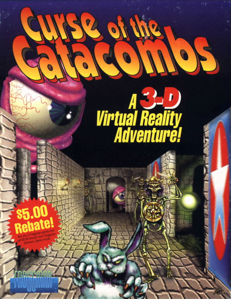 Curse of the Catacombs DOS Front Cover