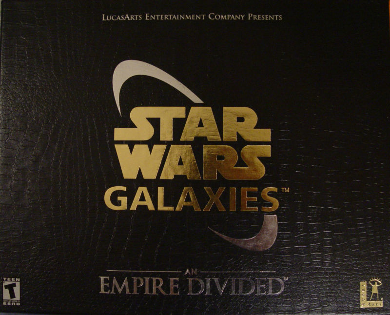 Star Wars: Galaxies - An Empire Divided (Collector's Edition) Windows Front Cover