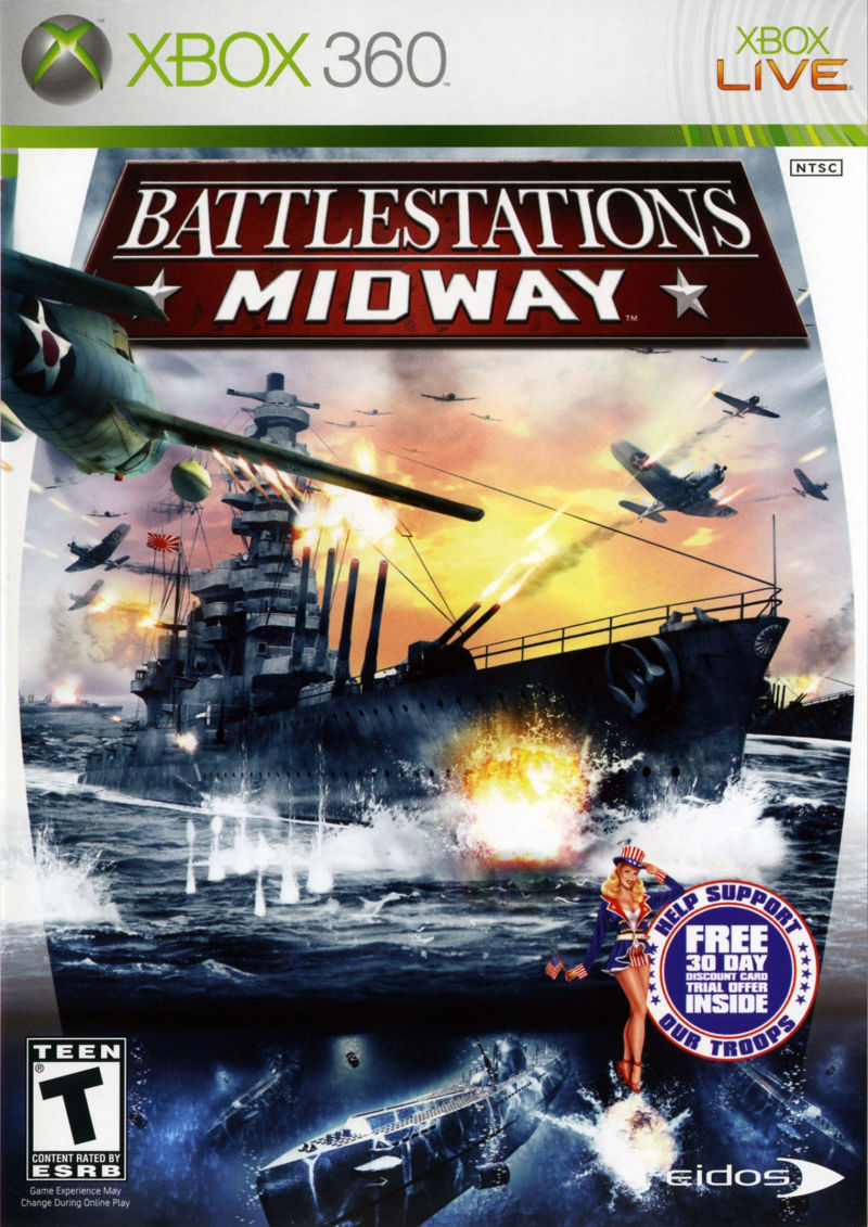 Battlestations: Midway for Xbox 360 (2007) - MobyGames Xbox 360 Game Covers Download