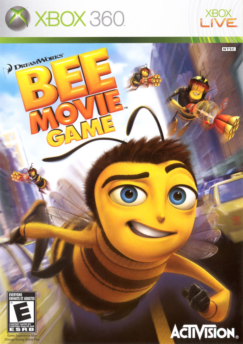 Bee Movie Game for PlayStation 2 (2007) - MobyGamesXbox 360 Games Covers