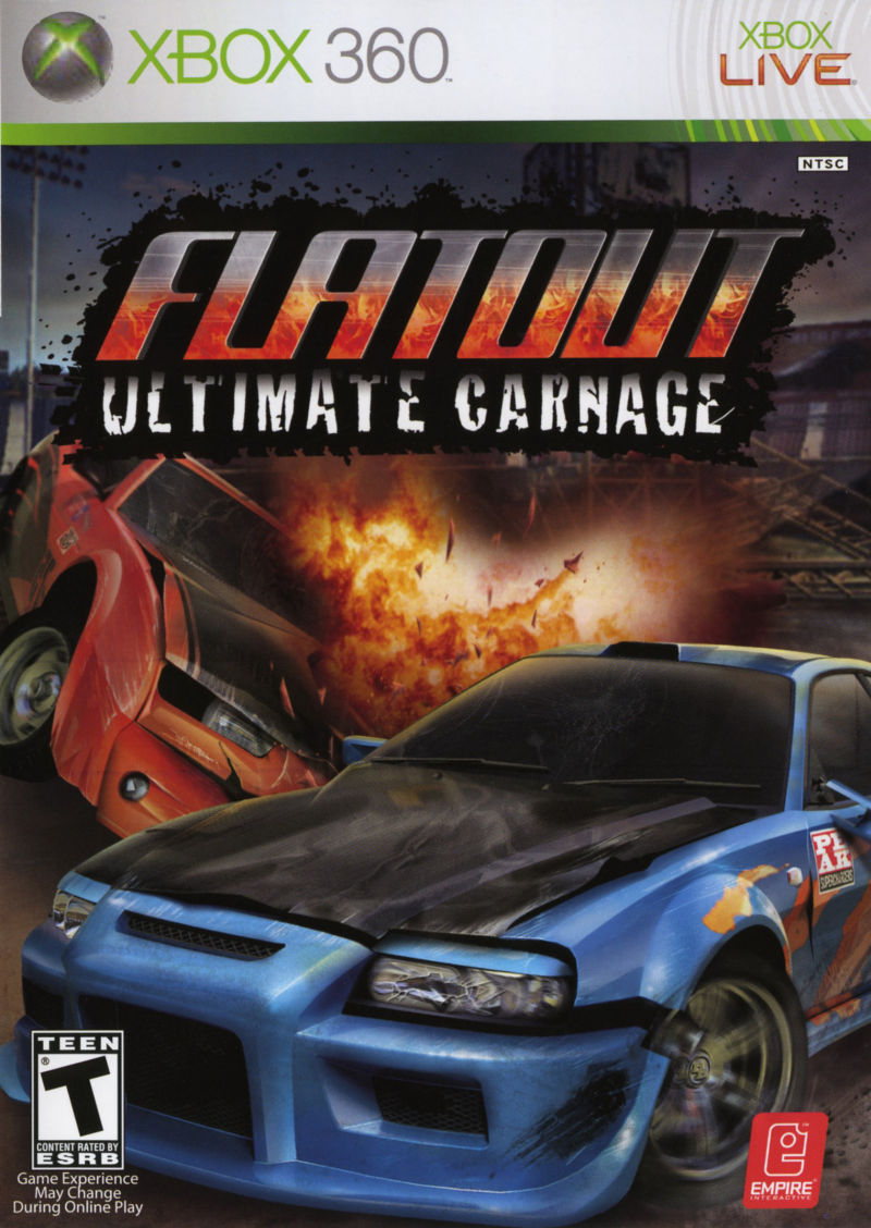 flatout ultimate carnage for xbox 360 2007 mobygames. Black Bedroom Furniture Sets. Home Design Ideas