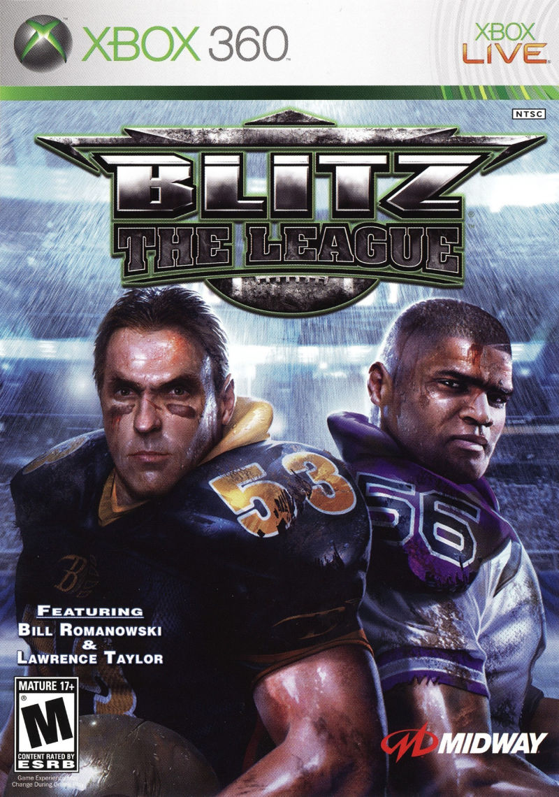 Blitz: The League Xbox 360 Front Cover