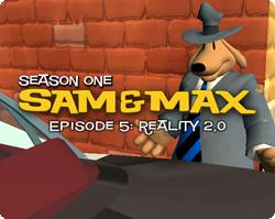 Sam & Max: Episode 5 - Reality 2.0 Windows Front Cover
