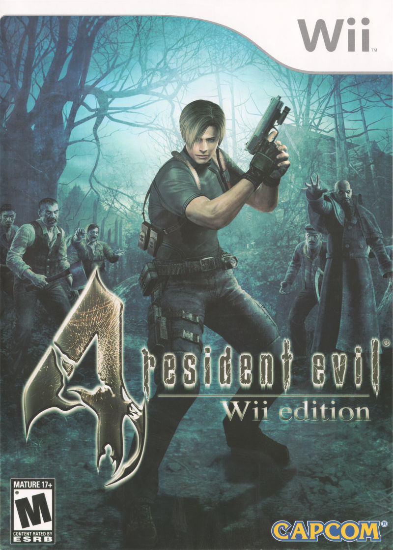 Resident Evil 4 Wii Front Cover