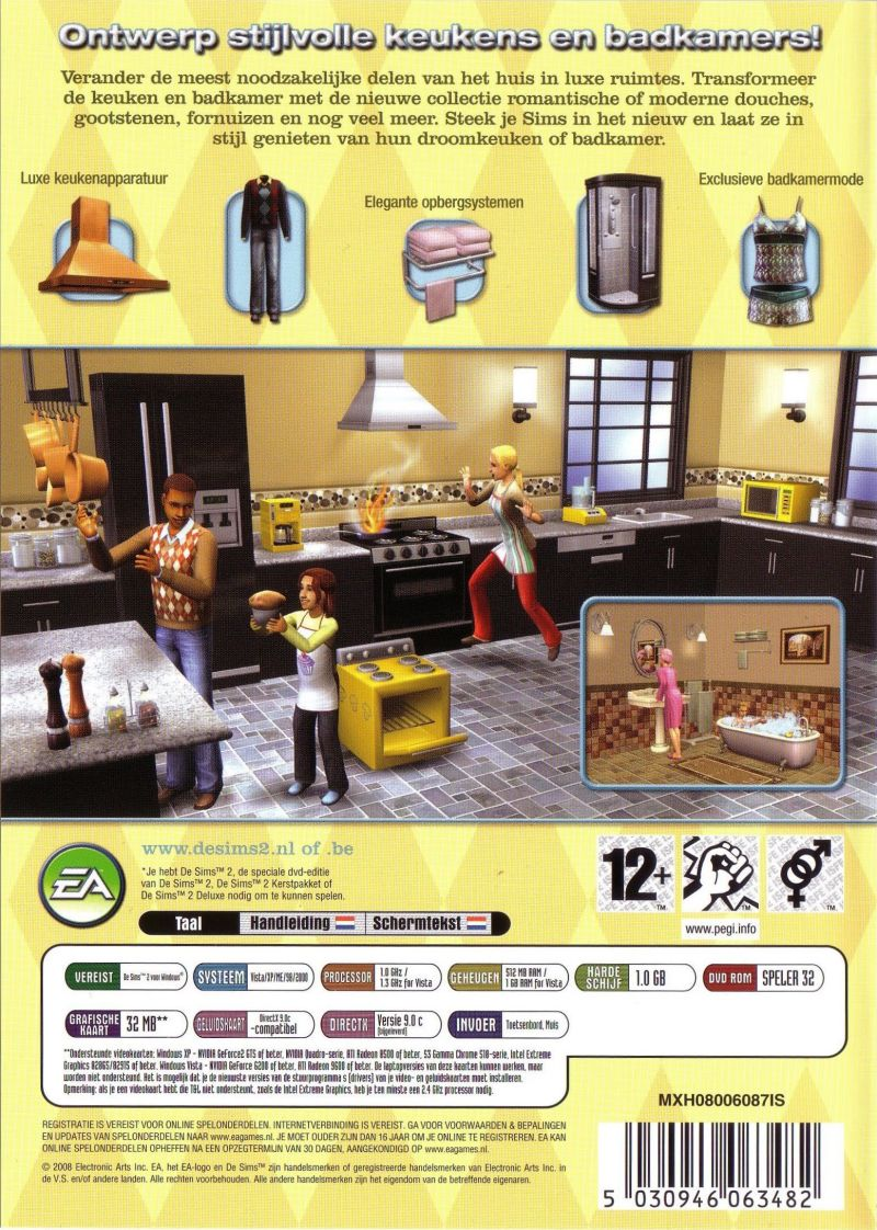 Uncategorized The Sims 2 Kitchen And Bath Interior Design the sims 2 kitchen bath interior design stuff windows back cover