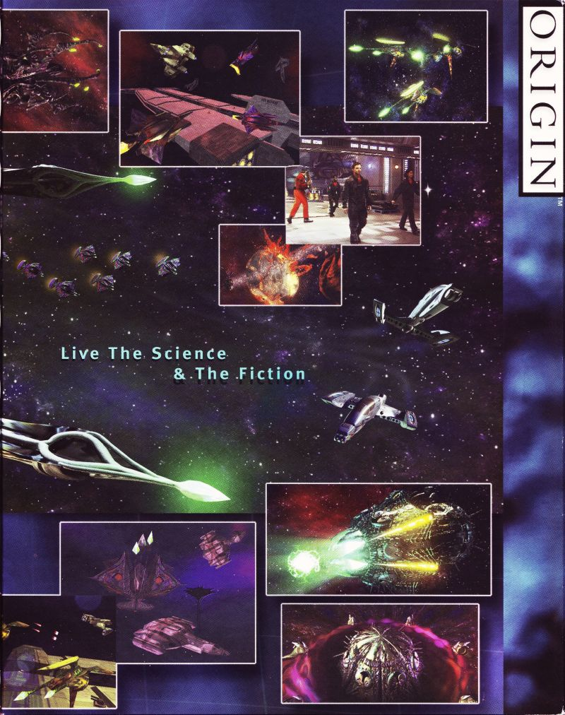 Wing Commander: Prophecy Windows Inside Cover Right