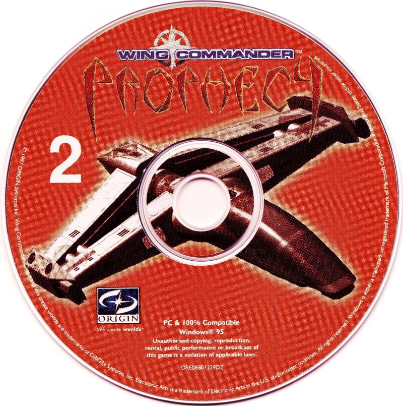 Wing Commander: Prophecy Windows Media Disc 2