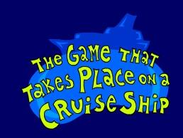 The Game That Takes Place on a Cruise Ship Windows Front Cover