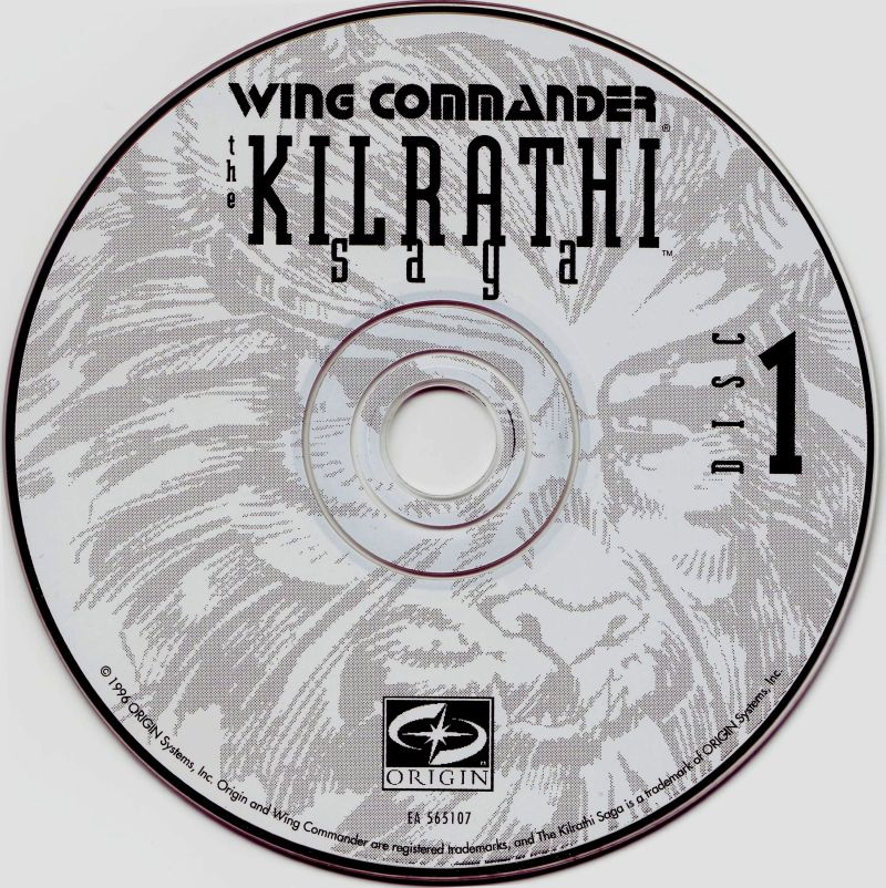 Wing Commander: The Kilrathi Saga Windows Media Disc 1/5
