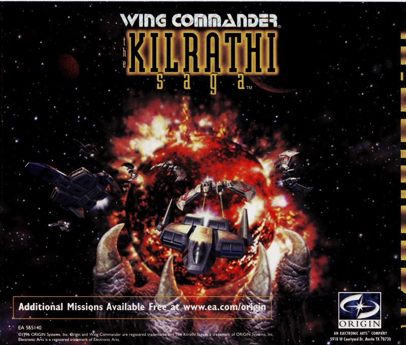 Wing Commander: The Kilrathi Saga Windows Other Jewel Case 3 - Back