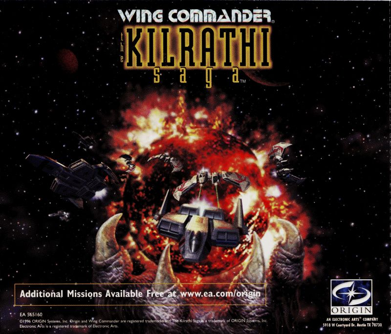Wing Commander: The Kilrathi Saga Windows Other Jewel Case 5 - Back