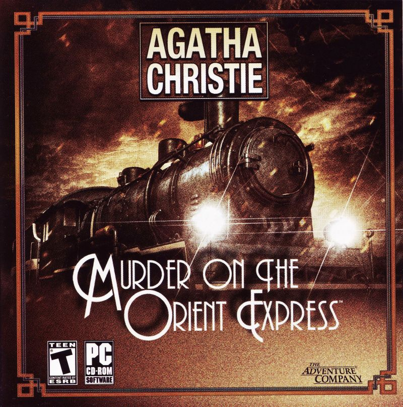 Agatha Christie: Murder on the Orient Express Windows Other Jewel Case -Front