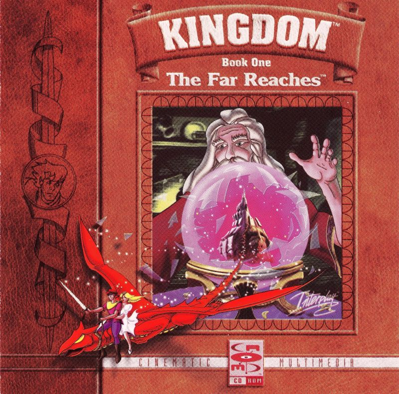 Kingdom: The Far Reaches DOS Other Jewel Case - Front