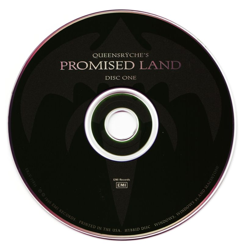 Queensrÿche's Promised Land Macintosh Media Disc 1/2