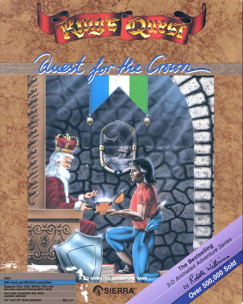 King's Quest DOS Front Cover