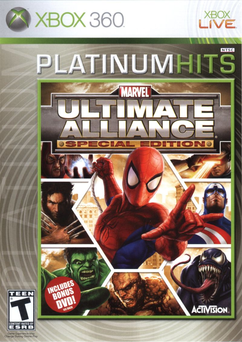 Marvel Ultimate Alliance Special Edition For Playstation