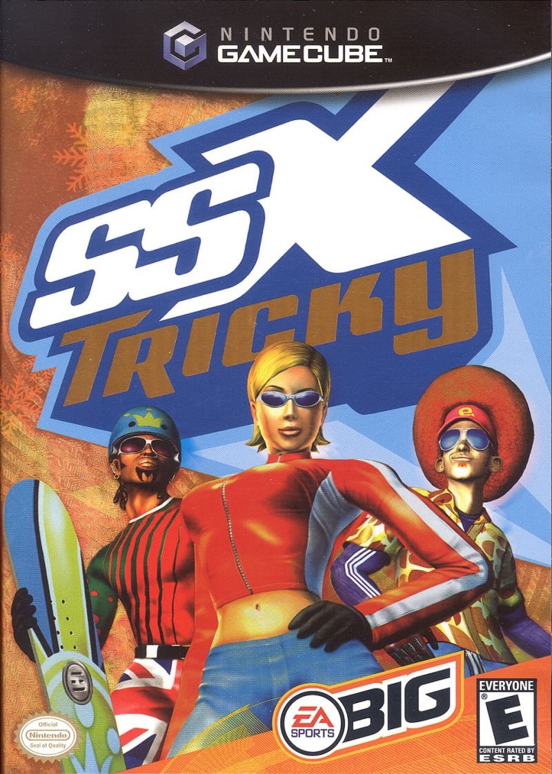 SSX Tricky GameCube Front Cover