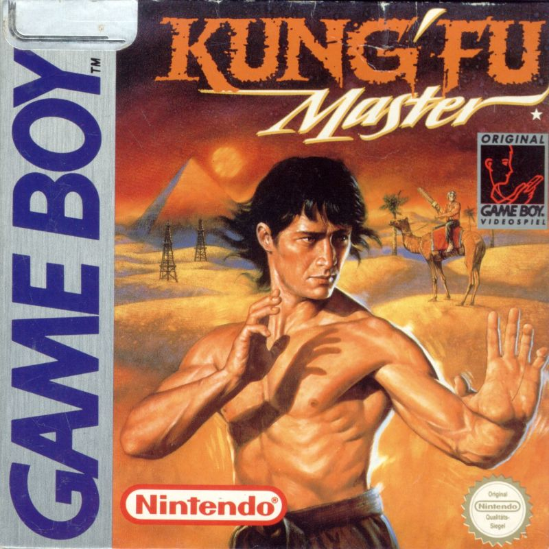 Kung' Fu Master Game Boy Front Cover