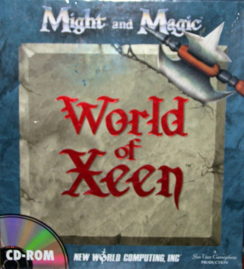 Might and Magic: World of Xeen DOS Front Cover