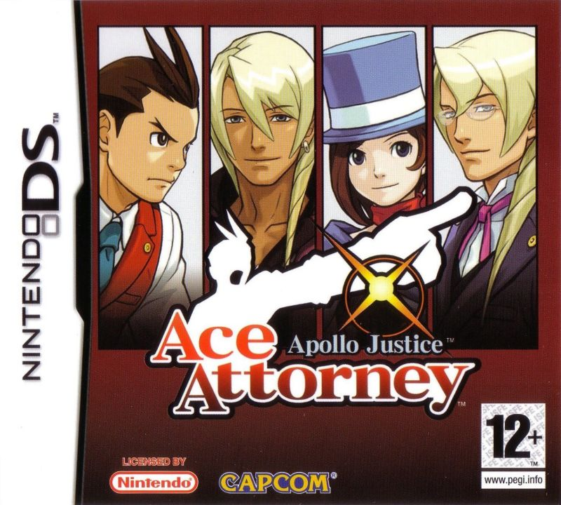 Apollo Justice: Ace Attorney Nintendo DS Front Cover