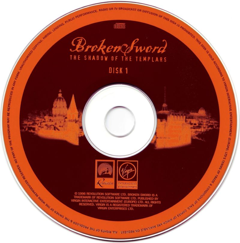 Circle of Blood Windows Media Disc 1/2