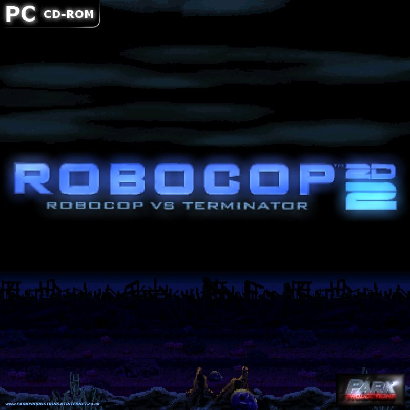 Robocop 2D 2: Robocop vs Terminator Windows Front Cover